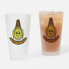 Freemason Past Master Pint Glass