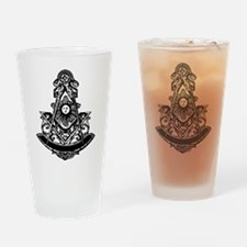 PM Square and Compass No. 1 Pint Glass