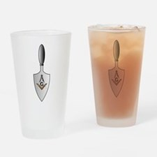 Masonic Trowel Pint Glass