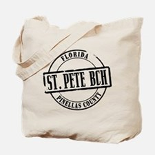 St Pete Bch Title Tote Bag