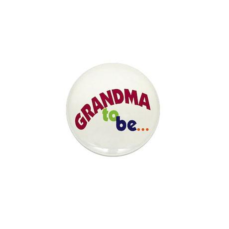 Grandma To Be Mini Button