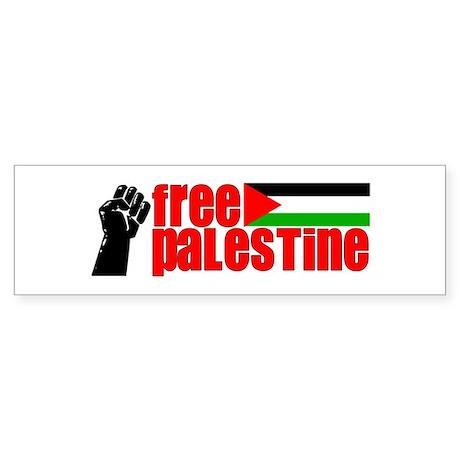 Free Palestine - Bumper Sticker