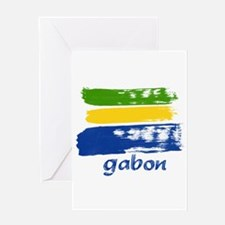 Gabon Greeting Card