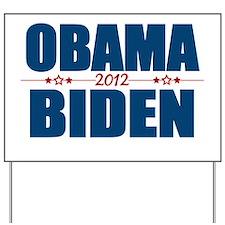 Obama Biden 2012 Yard Sign