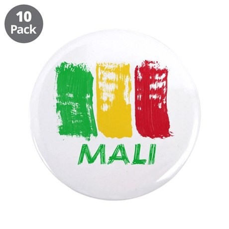 "Mali 3.5"" Button (10 pack)"
