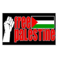 Free Palestine - Sticker (Rect.)