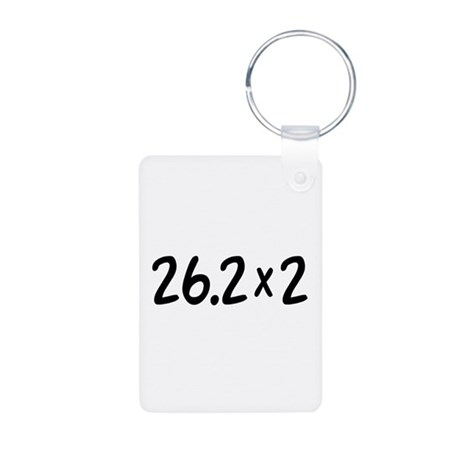 26.2 x 2 Aluminum Photo Keychain