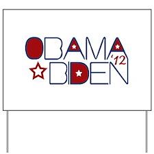 Cool Obama Biden 2012 Yard Sign