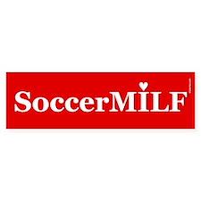 Soccer MILF Bumper Bumper Sticker