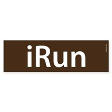 iRun Bumper Bumper Sticker