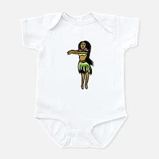 Hula Hula Girl Infant Creeper