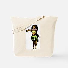 Hula Hula Girl Tote Bag