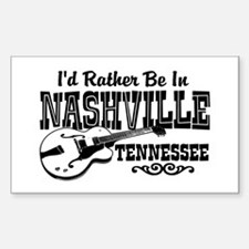 Nashville Tennessee Sticker (Rectangle)