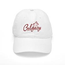 Calgary Leaf Script Baseball Cap