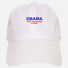 "OBAMA - ""Anti"" Commander In C Baseball Baseball Cap"