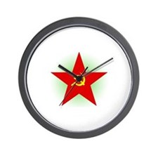 Star And Sickle Wall Clock
