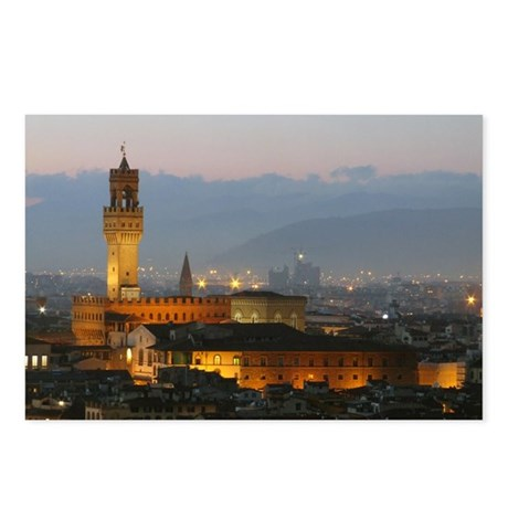 Florence at Night Postcards (Package of 8)