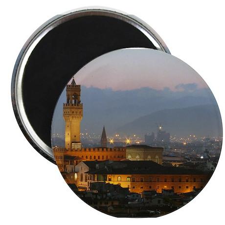 Florence at Night Magnet
