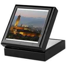 Florence at Night Keepsake Box