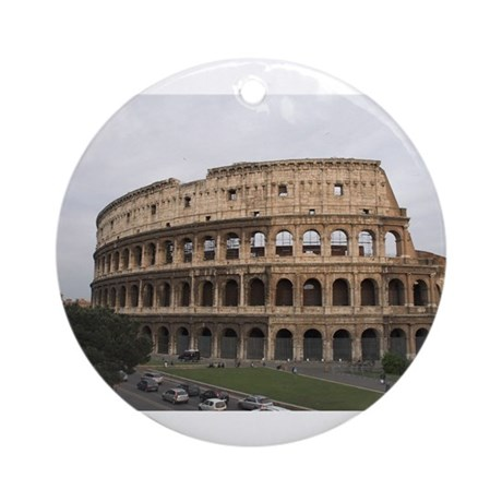 Colosseum Ornament (Round)