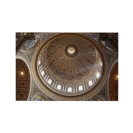 St. Peter's Dome Rectangle Magnet