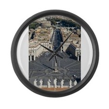 St. Peter's Square Large Wall Clock