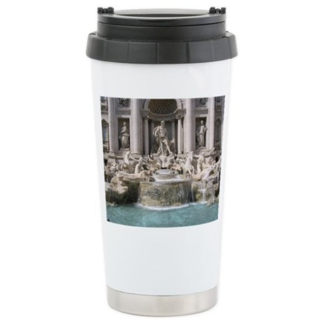 Trevi Fountain Stainless Steel Travel Mug