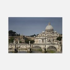 Vatican over the River Rectangle Magnet (10 pack)