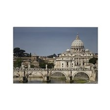 Vatican over the River Rectangle Magnet