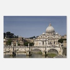Vatican over the River Postcards (Package of 8)