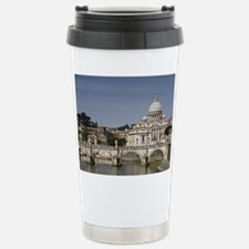 Vatican over the River Travel Mug