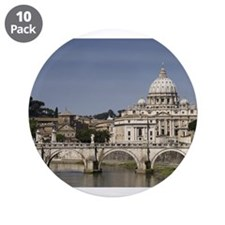 "Vatican over the River 3.5"" Button (10 pack)"