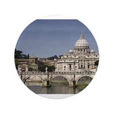"Vatican over the River 3.5"" Button"