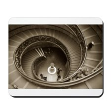 Vatican Staircase Mousepad