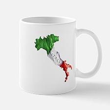Italian Flag Map Mug