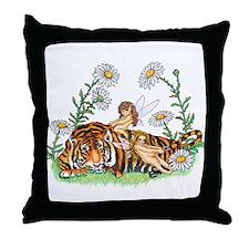 SpringTime in Fairy Land Throw Pillow