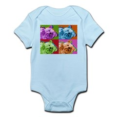 Silky Terrier Infant Creeper