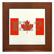 Framed Canadian Tile