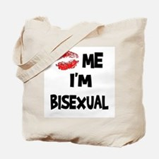 Kiss Me I'm Bisexual Tote Bag
