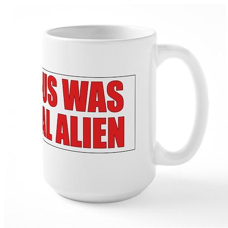 Immigration Large Mug