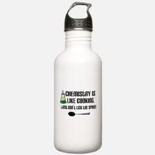 Chemistry Cooking Water Bottle