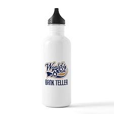Bank Teller Gift Water Bottle