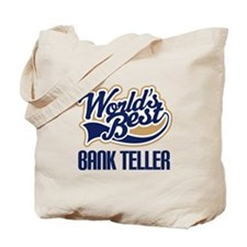 Bank Teller Gift Tote Bag