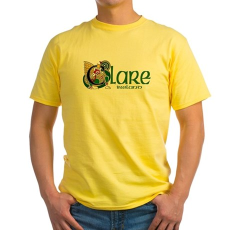 County Clare Yellow T-Shirt