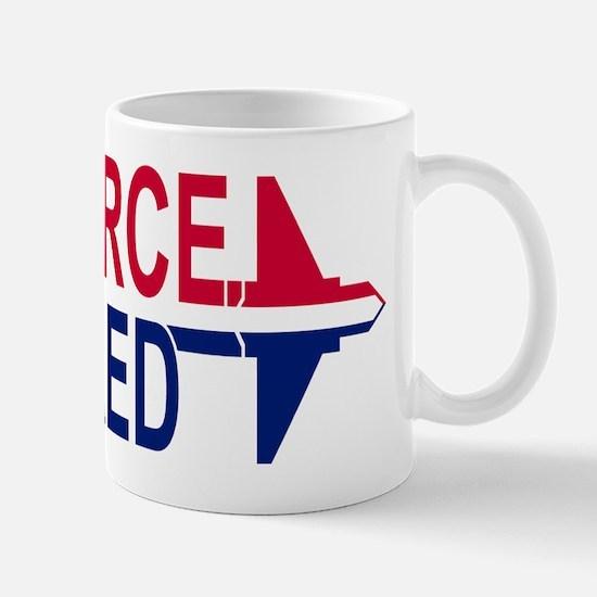 Air Force Retired<BR> 11 Ounce Mug 3