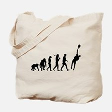 Evolution of Tennis Tote Bag
