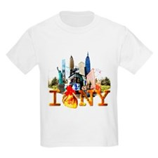 I HEART NY...LITERALLY Kids T-Shirt