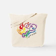 Love Is Love: Gay Tote Bag