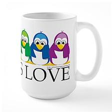 Love Is Love: Penguins Ceramic Mugs
