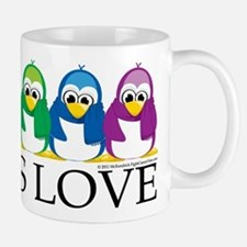 Love Is Love: Penguins Mug